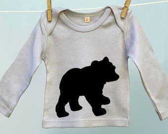 Baby Bear T shirt for Son or Daughter, Niece or Nephew, Bear Cub tee shirt tshirt