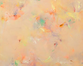 """Joy, an 8x10"""" fine art print of an original abstract expressionism painting! *limited quantity*"""