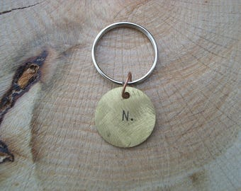 Dog Tag, dog medal, custom handmade with initial of your dog's name