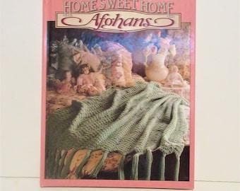 "Vintage ""Home Sweet Home"" Afghan Crochet Book"