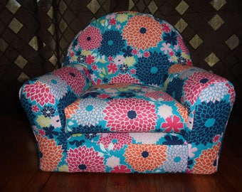 "Perfect Size Chair for 18"" Dolls - Handmade"