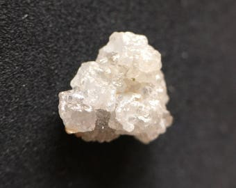 2.99ct Snow white rough diamond