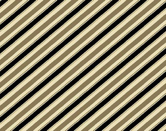 Barber Shop Stripes Quilting Cotton Fabric; [[by the half yard]]