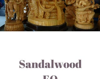 Sandalwood essential oil QRDS