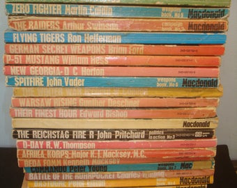 Pan/Ballantine/Purnell illustrated History WWII: 26 Paperback books