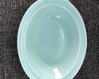 Lu-Ray Pastels 10 Inch Serving Dish Aqua