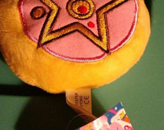 Retrocon Sale - 3.5 inch Plush Sailor Moon Symbol Pillow