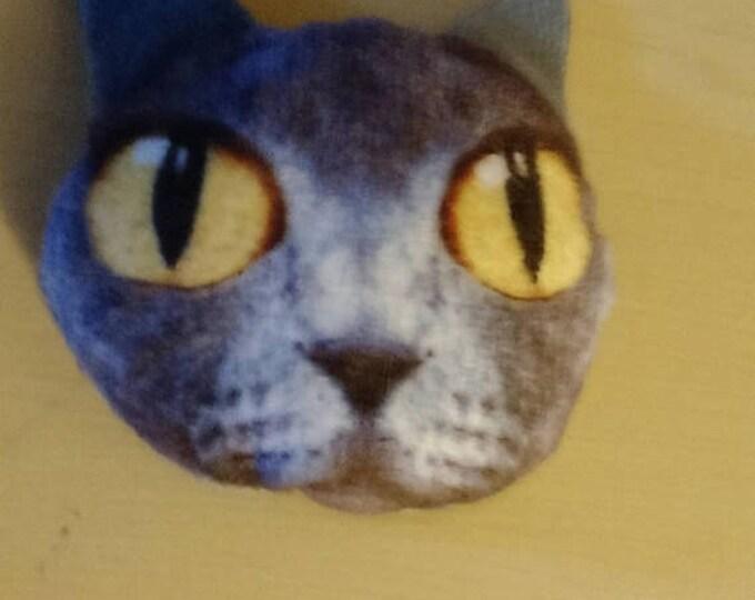 Retrocon Sale - 2 inch Grey Kitty Plush