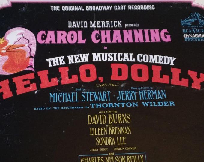 Hello Dolly - The Original Broadway Cast Recording  1964- Vinyl Record