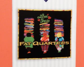 Love Those Fat Quarters Sew Easy wall quilt pattern from Beck & Me Uncut