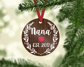 nana ornament / Christmas ornament / grandma ornament / ornament / new grandma gift / grandparent ornament / grandma Christmas  grandma gift