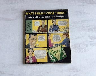 Old Spry Shortening Recipe Booklet