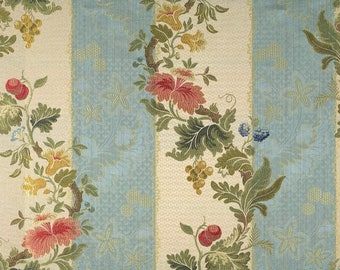 5,5 yards Scalamandre Colony Villa Lante Italian lampas fabric (also available by the yard)