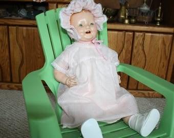 Century Composition Chuckles Doll