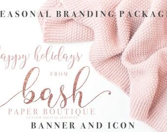 Custom Seasonal Shop Banner and Shop Icon