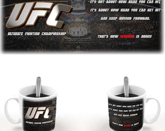 ufc coffee mug