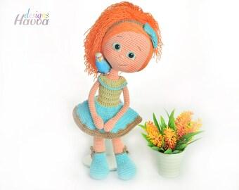 Crochet Pattern - Alya Doll (Amigurumi Doll Pattern)