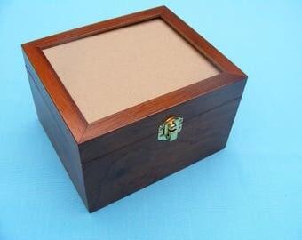 Walnut Cambridge Petite Sewing Box