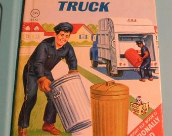 The Disposal Truck by Rand McNally