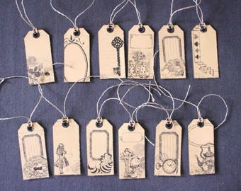 Tags to customize ALICE in Wonderland