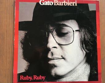 Gato Barbieri - Ruby Ruby - vinyl record