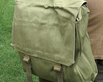 Vintage military haversack 1937 design