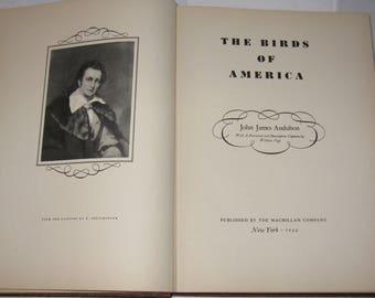 The Birds of America John James Audubon 1944 has 435 plates