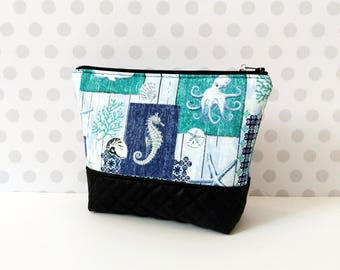 SeaLife Large Makeup Pouch