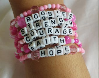 Breast Cancer Care Braclets