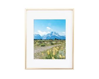 Grand Tetons / Wyoming / Photo Print
