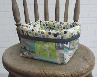 Small Nursery Storage Basket | Bin | Mini Nursery Storage