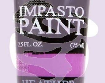 Prima Finnabair Art Alchemy IMPASTO Paint Heavy Body Acrylic Paint 2.5 oz HEATHER PURPLE #964580