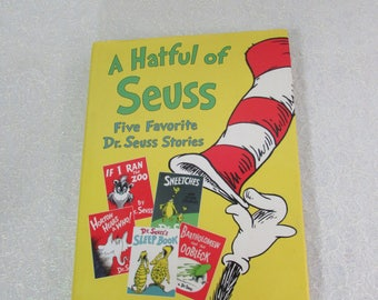 A Hatfull of Seuss, Vintage Dr. Seuss Book, Childrens Book, Story Book