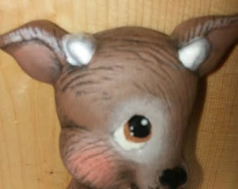 Small Reindeer Head Magnet