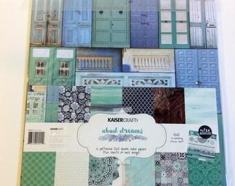 "KaiserCraft ""Ubud Dreams"" 12"" x 12"" Paper Kit"