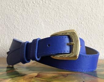 Blue Belt Vintage