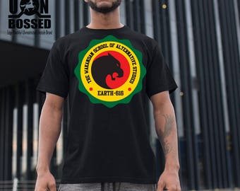 School of Wakanda BLACK PANTHER TSHIRT
