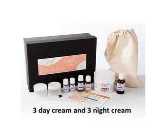 Kit creams for dry skin