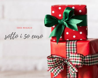 Gifts under 50 euros