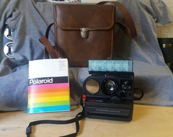 Polaroid Pronto Sonar OneStep SX70 Camera with case