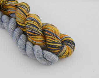 LOVE SOCK self-striping, 013, merino nylon sock yarn,100g