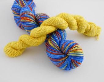 LOVE SOCK self-striping, 016, merino nylon sock yarn,100g
