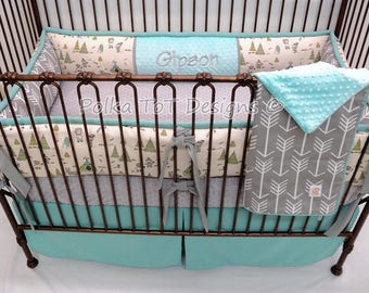 Cowboys & Native American Baby Bedding for boy  Vintage Style : Gipson