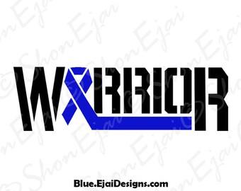 Huntingtons Disease, Alopecia, Erbs Palsy, Tuberous Sclerosis, Colon Cancer Svg, Transverse Myelitis, Blue, Cancer Ribbon Svg, Awareness Svg