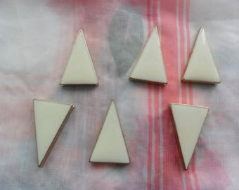 Sale on 1 Bag of triangle Pendants for jewellery making