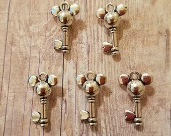 Mickey Mouse Key Charm