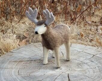 Felt Deer, Deer, Felt Buck, Doe
