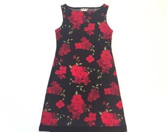 Vintage Ref Roses Dress