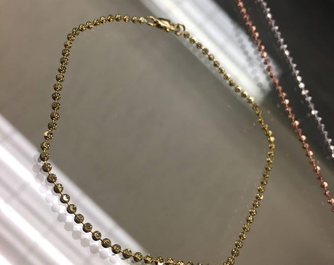 Baby DYF Style Bracelet in 14k
