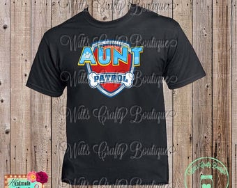 Aunt Patrol Paw Patrol T-shirt